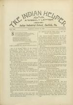 The Indian Helper (Vol. 12, No. 28)