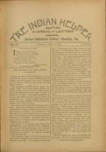 The Indian Helper (Vol. 12, No. 29)
