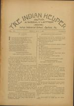 The Indian Helper (Vol. 12, No. 30)