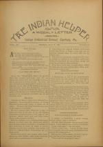 The Indian Helper (Vol. 12, No. 32)