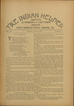 The Indian Helper (Vol. 12, No. 34)