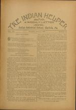 The Indian Helper (Vol. 12, No. 35)