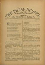 The Indian Helper (Vol. 12, No. 36)