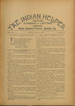 The Indian Helper (Vol. 12, No. 38)