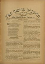 The Indian Helper (Vol. 12, No. 39)