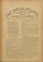The Indian Helper (Vol. 12, No. 41)