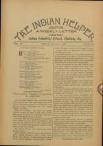 The Indian Helper (Vol. 12, No. 43)