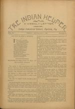 The Indian Helper (Vol. 12, No. 47)