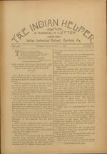 The Indian Helper (Vol. 12, No. 48)