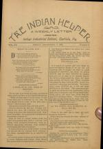 The Indian Helper (Vol. 12, No. 49)