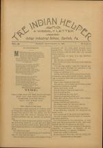 The Indian Helper (Vol. 12, No. 50)