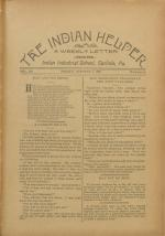 The Indian Helper (Vol. 12, No. 52)