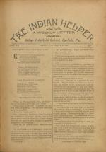 The Indian Helper (Vol. 12, No. 7)