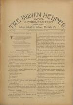 The Indian Helper (Vol. 12, No. 8)