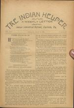The Indian Helper (Vol. 14, No. 40)