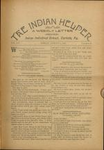 The Indian Helper (Vol. 14, No. 42)