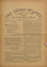 The Indian Helper (Vol. 14, No. 43)