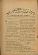 The Indian Helper (Vol. 14, No. 47)