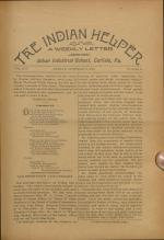 The Indian Helper (Vol. 14, No. 51)