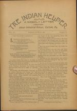 The Indian Helper (Vol. 15, No. 33)