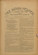 The Indian Helper (Vol. 15, No. 34)