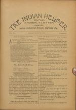 The Indian Helper (Vol. 15, No. 35)