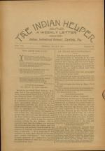 The Indian Helper (Vol. 15, No. 36)