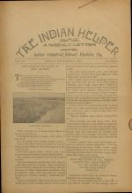 The Indian Helper (Vol. 15, No. 4)