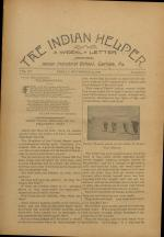 The Indian Helper (Vol. 15, No. 5)