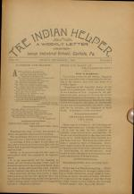 The Indian Helper (Vol. 15, No. 6)