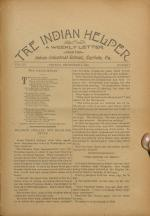 The Indian Helper (Vol. 15, No. 7)