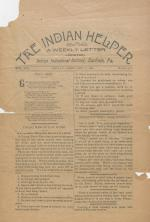 The Indian Helper (Vol. 13, No. 17)