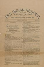 The Indian Helper (Vol. 14, No. 37)