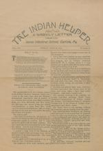 The Indian Helper (Vol. 14, No. 39)