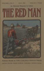 The Red Man (Vol. 4, No. 9) Cover
