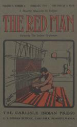Image of the Red Man (Vol. 2, No. 6) Cover