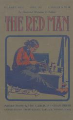 Image of the Red Man (Vol. 3 No. 8) Cover