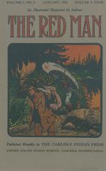 Image of the Red Man (Vol. 4 No. 5) Cover
