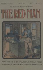 Image of the Red Man (Vol. 4 No. 8) Cover