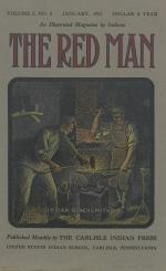 The Red Man (Vol. 5, No. 5) Cover