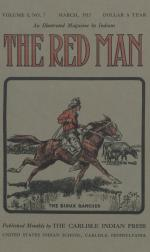 Image of the Red Man (Vol. 5, No. 7) Cover