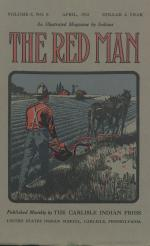 The Red Man (Vol. 5, No. 8) Cover